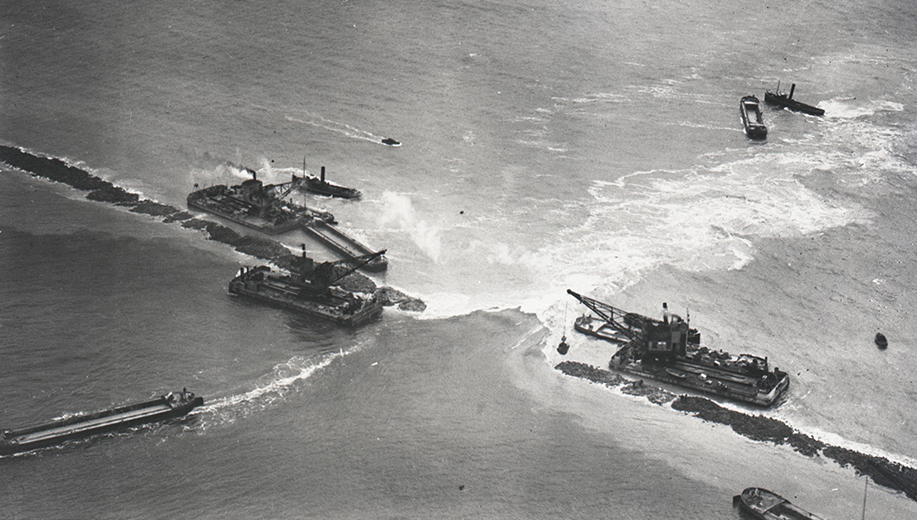 13-1932-enkele-dagen-voor-sluiting-sluitgat-De-Vlieter