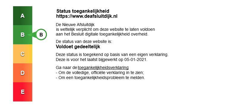 toegankelijkheidscertificaat